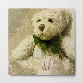 Daddy's Gift Teddy Bear Print Metal Print