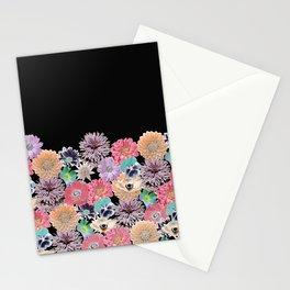 Pink Rose Floral Stationery Cards