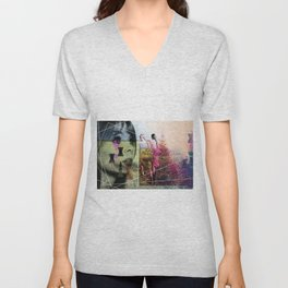 MUSICAL SEASONS. CLIPPINGS UNTITLED (series) Unisex V-Neck