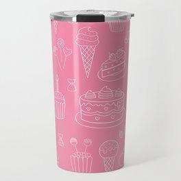 Pink Dessert Travel Mug