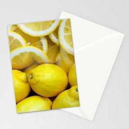 Lemon Collage Stationery Cards