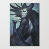 wicked Canvas Prints featuring Wicked by Artgerm™