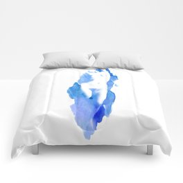 Madame Blue Comforters