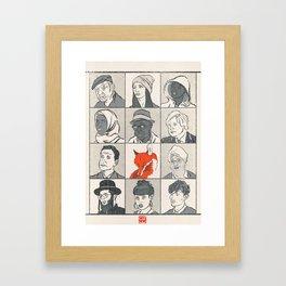 Londoners Framed Art Print