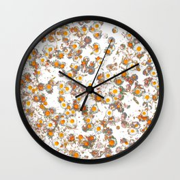 camomile Wall Clock