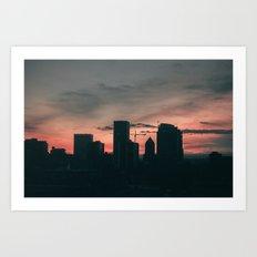 Portland IV Art Print