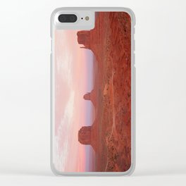 Monumental View Clear iPhone Case
