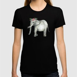 Ellie the Elephant and her flower crown T-shirt