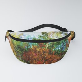 Colorful Birches Fanny Pack