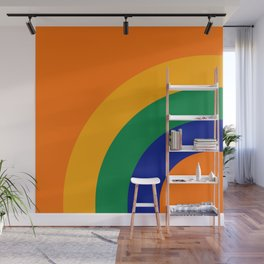 Citrus Bow Wall Mural