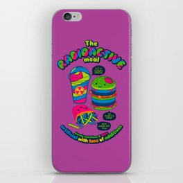 The Radioactive Meal iPhone Skin