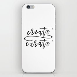 Create / Curate iPhone Skin