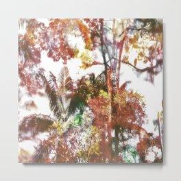 Alberi Colorati Metal Print