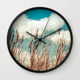 Branches in the river I Wall Clock