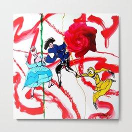 Marin Marais ` La grande spectre de la Rose' Metal Print