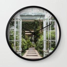 Conservatory Doors Wall Clock