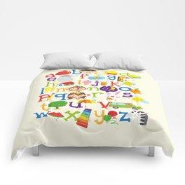 Wedgienet's Alphabet Comforters
