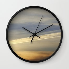 Just another sunset Wall Clock