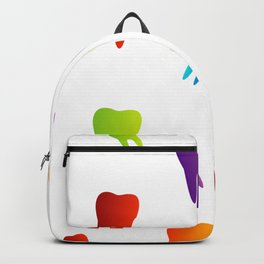 Colorful Sweet tooth Backpack