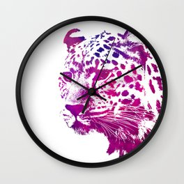 gepard art Wall Clock
