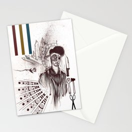 A Man Stationery Cards