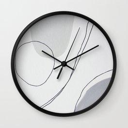 Neutrals Wall Clock