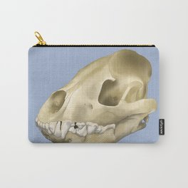hyena skull Carry-All Pouch