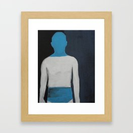 inherited insecurity Framed Art Print