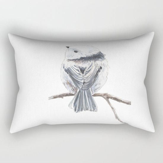 Tit bird Rectangular Pillow