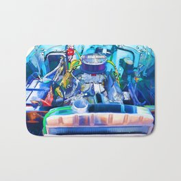 Automotive engine Bath Mat