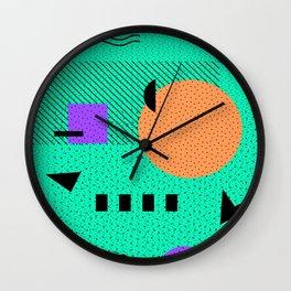 Hello Memphis Wall Clock