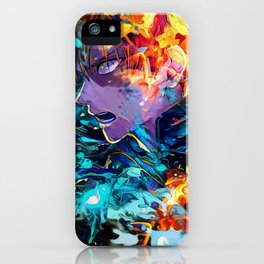 Hot and cold iPhone Case