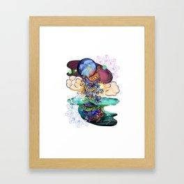 Turtles Holding it Together Framed Art Print