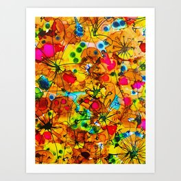 Color Therapy Art Print