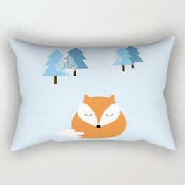 Sweet dreams with fox Rectangular Pillow