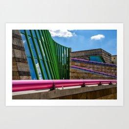 Neue Staatsgalerie Stuttgart Art Print