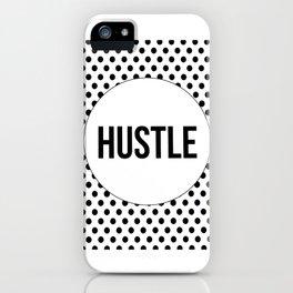 Hustle,Hustle Boss,Office Decor,Quote Prints,Typography Print,Wall Art,Hustle Hard,Printable Art iPhone Case