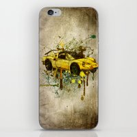 ferrari iPhone & iPod Skins featuring Ferrari by Svetlana Sewell