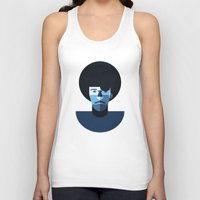 phil jones Tank Tops featuring Phil Lynott by rubenmontero