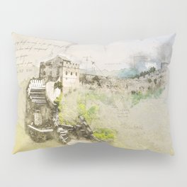 Great Chinese Wall Pillow Sham