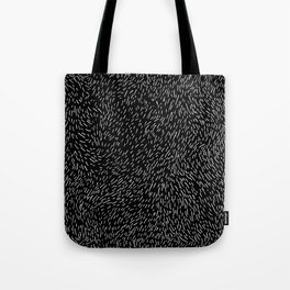 Dashed line drawn by pen Tote Bag