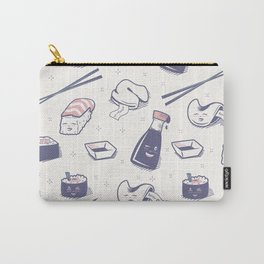 Enjoy Happy Sushi Carry-All Pouch