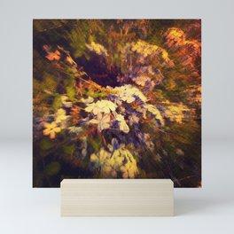 Dive into Flowers Mini Art Print