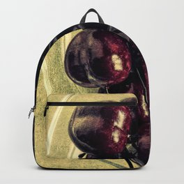Bowl Of Cherries Modern Cottage Chic Country Art Bistro Art A446 Backpack
