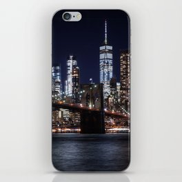 The Lights of New York City iPhone Skin