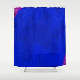 Blue Damsel Shower Curtain