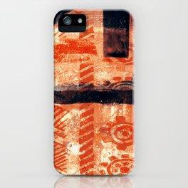 Artesanato Indígena (indigenous crafts) iPhone Case