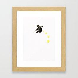 How High Can You Jump? Framed Art Print