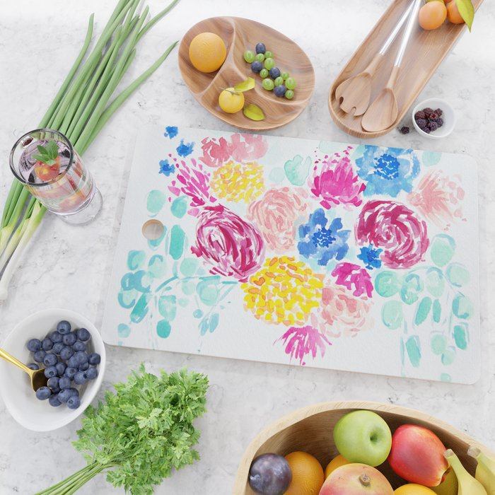 Kelley's Garden Cutting Board