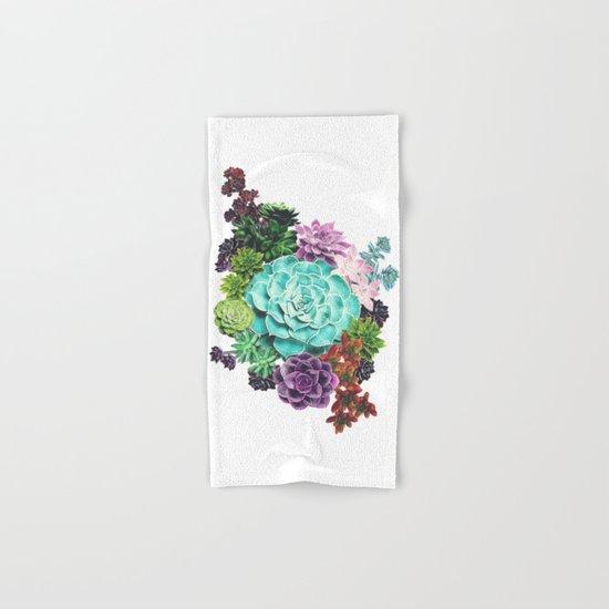 Succulent Hand & Bath Towel